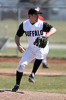 April 5, 2009:  /rp/ Dan Francis (21) of the University of Buffalo Bulls during a game at Amherst Audubon Field in Buffalo, NY.  Photo by:  Mike Janes/Four Seam Images