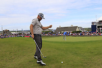Andy Sullivan (ENG) at the 18th green during Sunday's Final Round of the Dubai Duty Free Irish Open 2019, held at Lahinch Golf Club, Lahinch, Ireland. 7th July 2019.<br /> Picture: Eoin Clarke | Golffile<br /> <br /> <br /> All photos usage must carry mandatory copyright credit (© Golffile | Eoin Clarke)