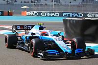29th November 2019; Yas Marina Circuit, Abu Dhabi, United Arab Emirates; Formula 1 Abu Dhabi Grand Prix, practice day; ROKiT Williams Racing, Robert Kubica - Editorial Use