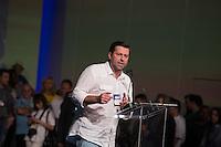 SÃO PAULO, SP, 24.07.2016 - ELEIÇÕES-SP - O deputado Carlos Sampaio durante convenção municipal do partido na cidade de São Paulo na Fecomercio no centro da cidade de São Paulo neste domingo, 24. A aliança partidária do PSDB para as eleições municipais em São Paulo conta com o apoio de dez partidos. PSB, PPS, PHS, PMB e DEM. (Foto: Ciça Neder/Brazil Photo Press)