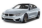 2016 BMW M4 2 Door Coupe Angular Front stock photos of front three quarter view