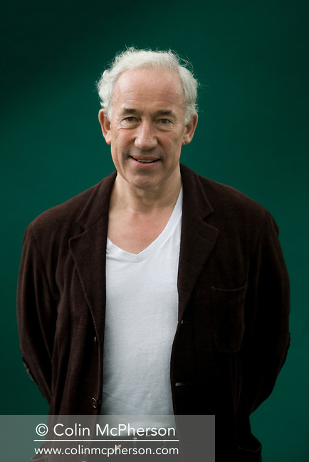 Acclaimed British actor and writer Simon Callow pictured at the Edinburgh International Book Festival where he talked about his biography of fellow-actor Orson Welles. The three-week event is the world's biggest literary festival and is held during the annual Edinburgh Festival. 2008 was the Book Festival's 25th anniversary and featured talks and presentations by more than 500 authors from around the world.