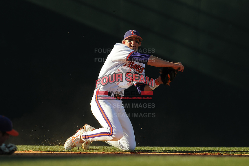 Brad Miller (Shortstop) Clemson Tigers (Photo by Tony Farlow/Four Seam Images)