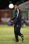 24 March 2004: Ronald Cerritos during pregame warmups. DC United of Major League Soccer defeated the Wilmington Hammerheads of the Pro Select League 1-0 at the Legion Sports Complex in Wilmington, NC in a Carolina Challenge Cup match..