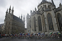 race start in front of the Leuven city hall (&amp; St-Peters church)<br /> <br /> 50th GP Jef Scherens 2016