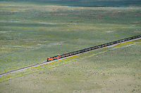 Coal train BNSF eastern Colorado. Aug 20, 2014. 812943