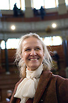 Cornelia Funke in the Sheldonian Theatre during the Sunday Times Oxford Literary Festival, UK, 16 - 24 March 2013. <br />