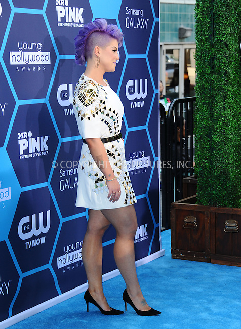 ACEPIXS.COM<br /> <br /> July 27 2014, LA<br /> <br /> Kelly Osbourne arriving at the 2014 Young Hollywood Awards at The Wiltern on July 27, 2014 in Los Angeles, California. <br /> <br /> By Line: Peter West/ACE Pictures<br /> <br /> ACE Pictures, Inc.<br /> www.acepixs.com<br /> Email: info@acepixs.com<br /> Tel: 646 769 0430