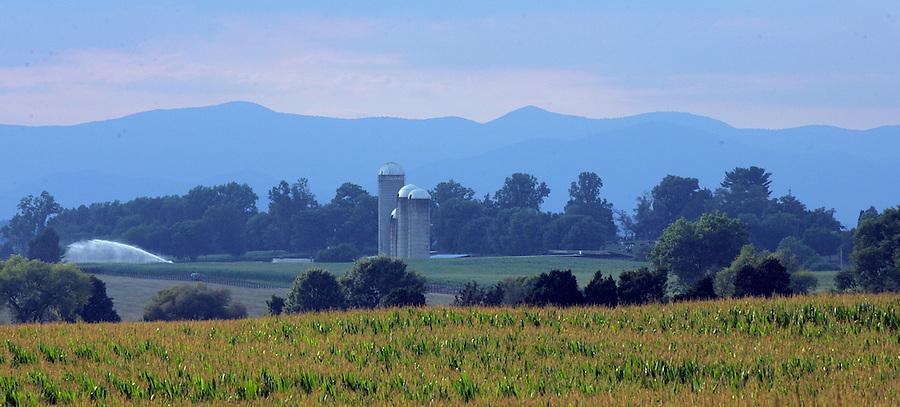 Farmland in Albemarle County, Va.