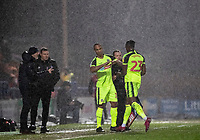 Bolton Wanderers' Chris O'Grady comes on as substitute for Joe Dodoo (right) <br /> <br /> Photographer Andrew Kearns/CameraSport<br /> <br /> The EFL Sky Bet League One - Rochdale v Bolton Wanderers - Saturday 11th January 2020 - Spotland Stadium - Rochdale<br /> <br /> World Copyright © 2020 CameraSport. All rights reserved. 43 Linden Ave. Countesthorpe. Leicester. England. LE8 5PG - Tel: +44 (0) 116 277 4147 - admin@camerasport.com - www.camerasport.com
