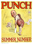 Punch Summer Number 1920 (front cover)