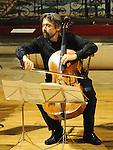 Ivan Monighetti of Celli Monighetti performing at St Peters Church of Ireland. Photo: www.pressphotos.ie