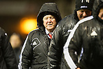 Aberdeen v St Johnstone..22.12.12      SPL.Craig Brown all wrapped up.Picture by Graeme Hart..Copyright Perthshire Picture Agency.Tel: 01738 623350  Mobile: 07990 594431