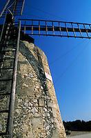 Alphonse Daudet Windmill, Provence, France.