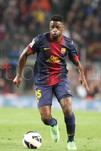 05.05.2013 Barcelona, Spain. Song in  action during the Spanish La Liga game between Barcelona and Real Betis from Nou Camp.