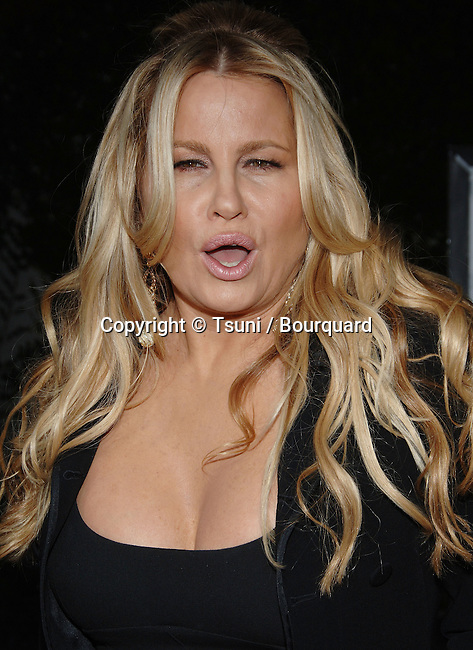 Jennifer Coolidge arriving at the AMERICAN DREAMZ Premiere at the Arclight Theatre in Los Angeles. April 11 2006.