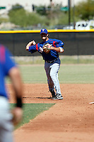 Erik Morrison -Texas Rangers - 2009 spring training.Photo by:  Bill Mitchell/Four Seam Images