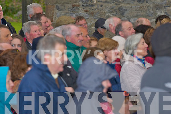 HUNDREDS: Hundreds attend the St Brendan's special mass Lá Fhéile Bréanainn at Ardfert Cathedral, on Thursday evening were the Bishop of Kerry Bill Murphy was the maine celebrant.