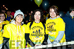 Pictured at the Darkness Into Light walk, Tralee, on Saturday last, were l-r: Mary Diggin (Causeway), Joanne Daly (Blennerville) and Susie Cournane (Tralee).