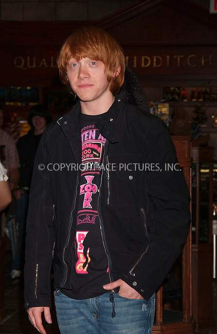 "WWW.ACEPIXS.COM . . . . . ....July 13 2007, New York City....Actor Rupert Grint, who stars in the 'Harry Potter' series of movies opened the new ""Harry Potter Store"" at FAO Schwarz in midtown Manhattan. Grint signed for fans and posed for photographs.....Please byline: KRISTIN CALLAHAN - ACEPIXS.COM.. . . . . . ..Ace Pictures, Inc:  ..(646) 769 0430..e-mail: info@acepixs.com..web: http://www.acepixs.com"