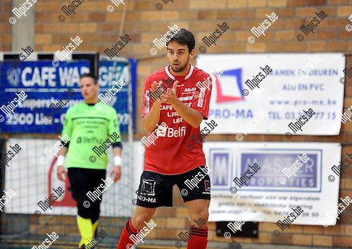 2013-09-13 / Futsal / seizoen 2013-2014 / Lier / Henrique Cox<br /><br />Foto: Mpics.be