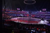 OLYMPIC GAMES: PYEONGCHANG: 09-02-2018, PyeongChang Olympic Stadium, Olympic Games, Opening Ceremony, Team Switzerland, ©photo Martin de Jong