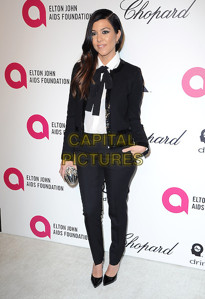 Kourtney Kardashian   attends the 2014 Elton John AIDS Foundation Academy Awards Viewing Party in West Hollyood, California on March 02,2014                                                                               <br /> CAP/DVS<br /> &copy;DVS/Capital Pictures