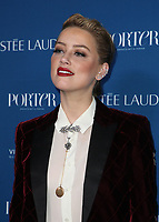 LOS ANGELES, CA - OCTOBER 9: Amber Heard, at Porter's Third Annual Incredible Women Gala at The Ebell of Los Angeles in California on October 9, 2018. Credit: Faye Sadou/MediaPunch