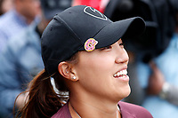 Annie Park (USA) smiles after finishing on the 18th hole during the ShopRite LPGA Classic presented by Acer, Seaview Bay Club, Galloway, New Jersey, USA. 6/10/18.<br /> Picture: Golffile   Brian Spurlock<br /> <br /> <br /> All photo usage must carry mandatory copyright credit (&copy; Golffile   Brian Spurlock)