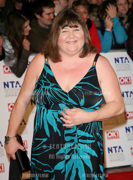 Cheryl Ferguson arriving for the National Television Awards 2011, at the O2, London. 26/01/2011  Picture By: Alexandra Glen / Featureflash