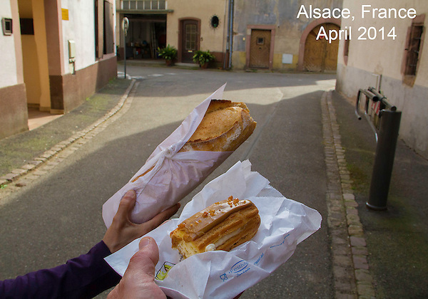 'Selfie,' Desert on the go, Riquewihr, Alsace region, .  John offers private photo tours in Denver, Boulder and throughout Colorado, USA.  Year-round. .  John offers private photo tours in Denver, Boulder and throughout Colorado. Year-round.
