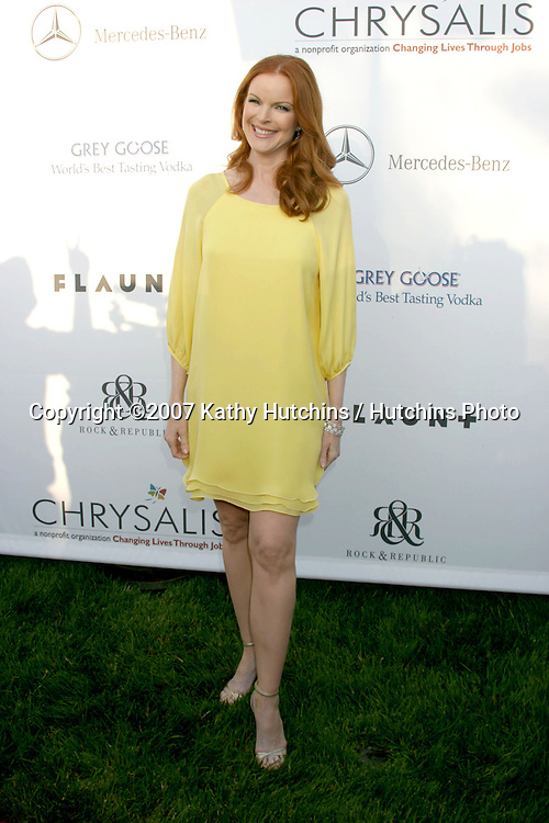 Marcia Cross.6th Annual Chrysalis Butterfly Ball.Private Home of Susan Harris & Hayward Kaiser.Brentwood, CA.June 2, 2007.©2007 Kathy Hutchins / Hutchins Photo....