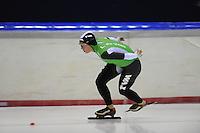 SCHAATSEN: HEERENVEEN: 05-10-2013, IJsstadion Thialf, Trainingwedstrijd, 3000m, Linda de Vries (4.15,83), ©foto Martin de Jong