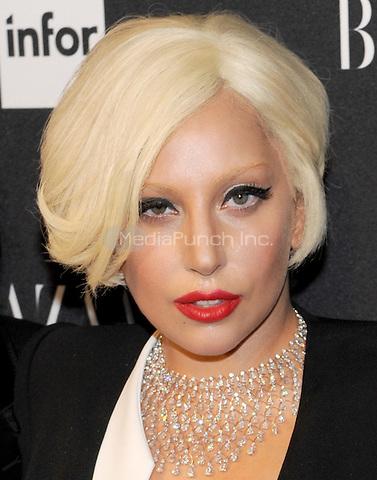 New York, NY-September 5: Lady Gaga  attends Harper's Baazar Celebrates Icons By Carine Roitfeld on September 5, 2014 at the Plaza Hotel in New York City. Credit: John Palmer/MediaPunch