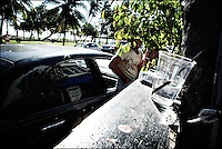 "Valet parking<br /> From ""Color Blind"" series. Miami, 2009"