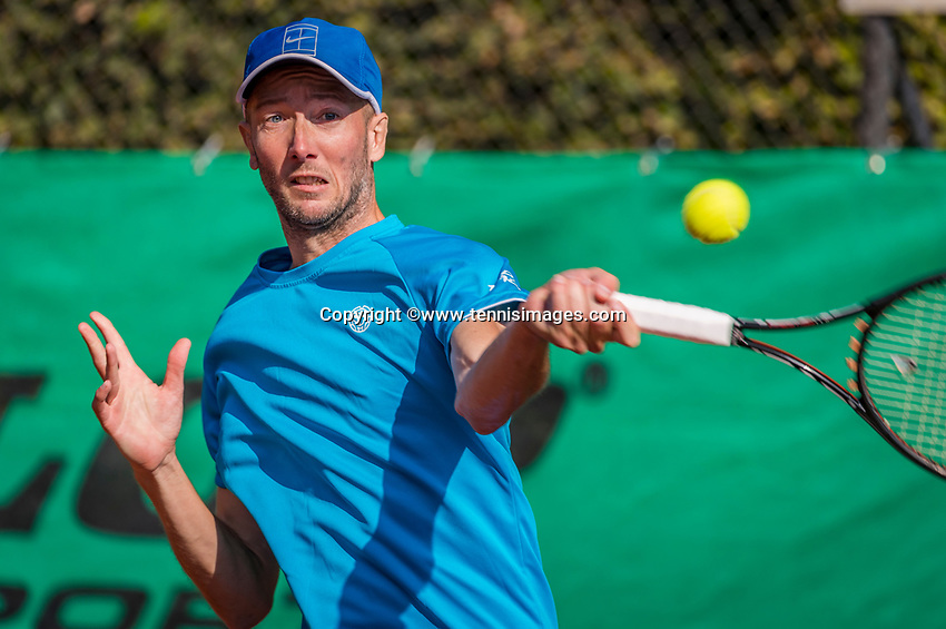 Hilversum, The Netherlands, September 2, 2018,  Tulip Tennis Center, NKS, Final men 35+ , Romano Frantzen (NED)<br />