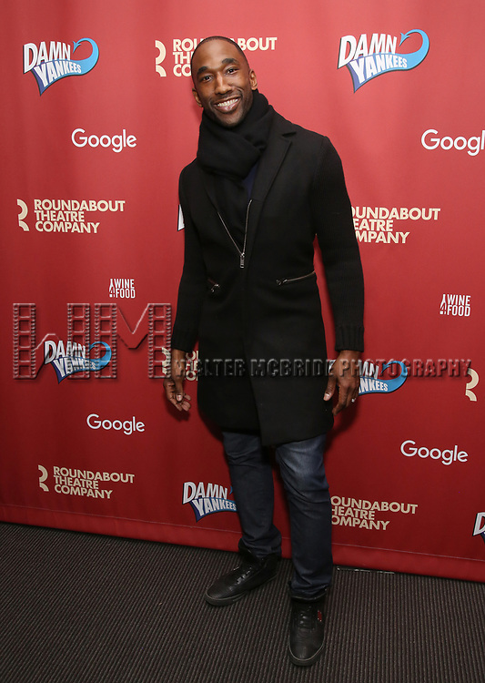 Anthony Wayne attends the cast party for the Roundabout Theatre Company presents a One-Night Benefit Concert Reading of 'Damn Yankees' at the Stephen Sondheim Theatre on December 11, 2017 in New York City.