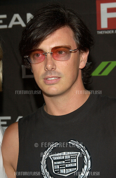 Actor DONOVAN LEITCH at concert by Duran Duran at The Roxy in Los Angeles where they were performing in their first US concert in 18 years. .July 15, 2003
