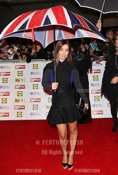 Louise Redknapp arriving for the 2012 Pride of Britain Awards, at the Grosvenor House Hotel, London. 29/10/2012 Picture by: Alexandra Glen / Featureflash