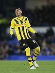 Guillaume Hoarau of BSC Young Boys - UEFA Europa League Round of 32 Second Leg - Everton vs Young Boys - Goodison Park Stadium - Liverpool - England - 26th February 2015 - Picture Simon Bellis/Sportimage