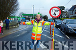 Catherine Dolan on her last day as the Crossing Guard at CBS Primary school.