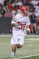 College Park, MD - April 29, 2017: Maryland Terrapins Ben Chisolm (39) in action during game between John Hopkins and Maryland at  Capital One Field at Maryland Stadium in College Park, MD.  (Photo by Elliott Brown/Media Images International)