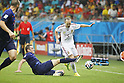 Andres Iniesta (ESP), JUN 13, 2014 - Football / Soccer : FIFA World Cup Brasil<br /> match between Spain and Netherlands at the Arena Fonte Nova in Salvador de Bahia, Brasil. (Photo by AFLO) [3604]