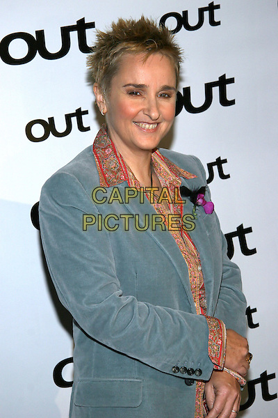 MELISSA ETHERIDGE.The 11th annual OUT100 Awards Celebration at Capitale, New York, NY..November 11th, 2005.Photo: Jackson Lee/Admedia/Capital Pictures.Ref: JL/ADM.half length blue jacket .www.capitalpictures.com.sales@capitalpictures.com.© Capital Pictures.