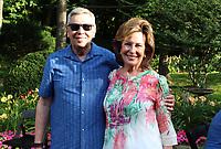 NWA Democrat-Gazette/CARIN SCHOPPMEYER Dennis and Evelyn Shaw enjoy An Evening with the Maestro.