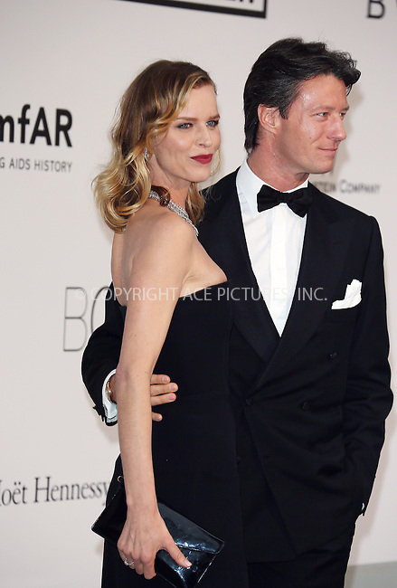 ACEPIXS.COM<br /> <br /> May 21 2014, Cannes<br /> <br /> Gregorio Marsiaj and Eva Herzigova arriving at amfAR's 21st Cinema Against AIDS Gala during the 67th Cannes International Film Festival at Hotel du Cap-Eden-Roc on May 21 2014 in Cap d'Antibes, France<br /> <br /> By Line: Famous/ACE Pictures<br /> <br /> ACE Pictures, Inc.<br /> www.acepixs.com<br /> Email: info@acepixs.com<br /> Tel: 646 769 0430