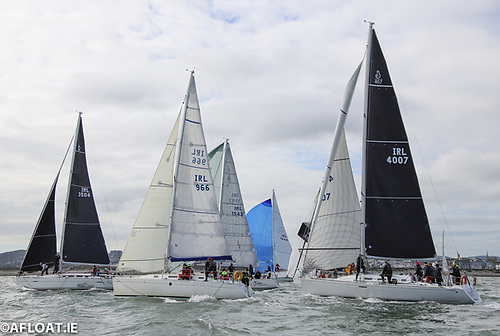 A good turnout for the final race of the coastal series and the penultimate ISORA race of 2020