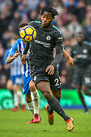 Michy Batshuayi of Chelsea (23) In action  during the Premier League match between Brighton and Hove Albion and Chelsea at the American Express Community Stadium, Brighton and Hove, England on 20 January 2018. Photo by Edward Thomas / PRiME Media Images.