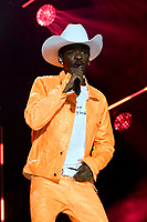 08 June 2019 - Nashville, Tennessee - Lil Nas X. 2019 CMA Music Fest Nightly Concert held at Nissan Stadium. <br /> CAP/ADM/DMF<br /> ©DMF/ADM/Capital Pictures