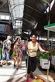 FRENCH POLYNESIA, Tahiti. The Papeete Municipal Market in Tahiti.